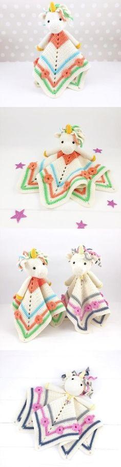 Super Cute Unicorn Crochet Patterns