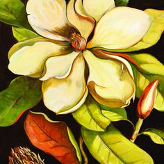 Elinor Luna 'Blossom Magnolia' Framed Canvas Wall Art                                                                                                                                                                                 More