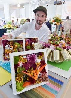 Willkommen in der Welt der Chrysantheme. Floral-Designer und Chrysanthemen-Botschafter Oliver Ferchland mit blumigen Exponaten.