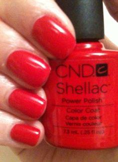 CND Shellac Wildfire