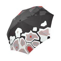 Breaking Ice Modern Abstract Landscape Auto-Foldable Umbrella