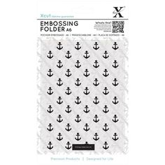 Docrafts Ditzy Anchors Embossing Folder