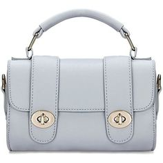 Yoins Micro Leather-look Top Handle Bag in Grey