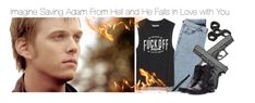 """""""Imagine Saving Adam From Hell and He Falls In Love with You"""" by xdr-bieberx ❤ liked on Polyvore featuring ADAM and Forever 21"""