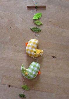 gingham birdies mobile | Flickr – Compartilhamento de fotos!