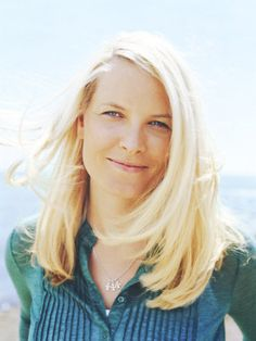 Norwegian Crown Princess Mette-Marit.  She has the shiniest blond hair I've ever seen!