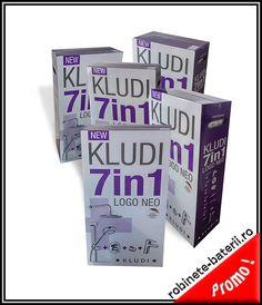 Baterii baie Kludi Logo Neo la pachet promotional 7 in 1