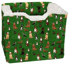 Pampered Pets Dogs and Cats Holiday Print Car Seat ** More info could be found at the image url.