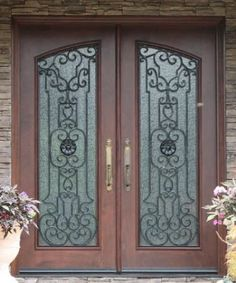 french doors love these entry doors would love the wood a different