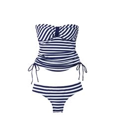 Bumps and Stripes: The Perfect Combo!  Maternity bathing suits you'll love.