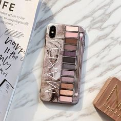 Makeup Eyeshadow Palette Phone Case For iPhone XS Max XR XS for iPhone 6 7 8 plus glossy soft silicone case cover Item description brand new high-quality case Makeup eyeshadow palette pattern Material: Glossy Soft TPU Protect . Iphone 8 Plus, Case Iphone 6s, Marble Iphone Case, Iphone Case Covers, Makeup Eyeshadow Palette, Free Shipping Makeup, Box Patterns, Iphone Models, Diy Gifts