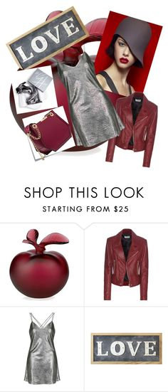 """Untitled #5"" by suzanedaric ❤ liked on Polyvore featuring Lalique, Balenciaga, Topshop, Parlane, Stuart Weitzman and Post-It"