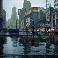 John Vachon, Times Square, 1943
