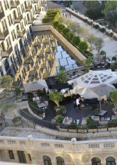 The Waldorf Astoria Jerusalem Garden Terrace. Experience Jerusalem!