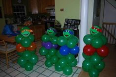 Teenage Mutant Ninja Turtle Birthday Party Inspiration | Semmes Savers