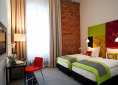 The Interior of the Andel's Hotel in Lodz by Jestico + Whiles Interior Design Dubai, Design Hotel, Luxury Interior, Modern Interior Design, Home Design, Das Hotel, Hospitality Design, Bedroom Decor, Hotels