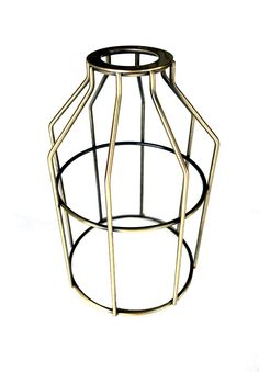 Nostalgic Bulbs - Antique Brass Light Bulb Cage - Guard for UNO Sockets, $9.95 (http://www.nostalgicbulbs.com/products/antique-brass-light-bulb-cage-guard-for-uno-sockets.html/)