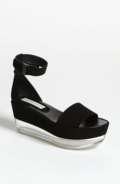 Stella McCartney Lucite® Platform Sandal available at #Nordstrom ... Actually sold out- but cool shoe!