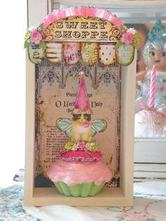 Sweet Shoppe Shadowbox