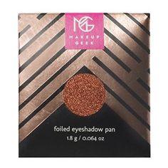 Makeup Geek Foiled Eyeshadow Pan in Flamethrower