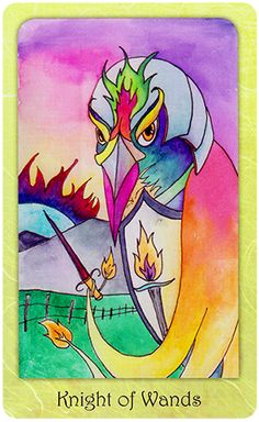 Free Daily Tarotscope — Feb 16, 2015 — Knight of Wands -- Is there something you have been waiting for perhaps news or the outcome of a problem?  It may be that you are coming to the end of your patience and need answers now rather than waiting it out and letting things take their course. (more)...