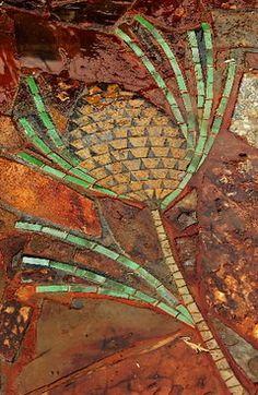 Mosaic artist Margaret Kuhn