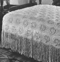 Vinyage crochet-bedspread - Free pattern