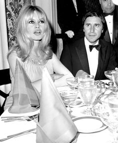 RIGITTE BARDOT LOOKBOOK Circa 1965 Where: With Bob Zaguri at a party in Beverly Hills, California.  Photo: Hal Mathewson/NY Daily News Archive via Getty Images