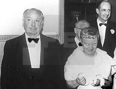 FESTIVAL INTERNACIONAL DE CINE DE SAN SEBASTIÁN: San Sebastián (Guipúzcoa), 26-7-1958.- El productor británico, Alfred Hitchcock ...lafototeca.com