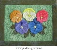 3D Sculptured Quilted Wall Hanging  Total Hanging Size: 38 x 48cm (15 x 19 inches).