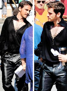 Once upon a time - Captain Hook - Colin O'donoghue - Killian Jones - How can anyone not love him