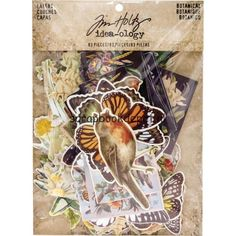 Scrapbookdepot - Idea-Ology Layers Die-Cuts Botanical 83/pkg - TH93554 - Tim Holtz - Diecut Diverse