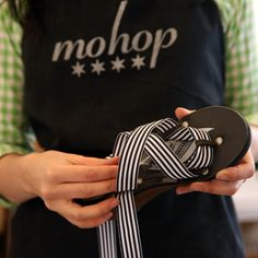 """Annie Mohaupt, CEO and founder of Mohop, designs shoes characterized by their """"interchangeability,"""" use of sustainable materials and lack of animal products."""