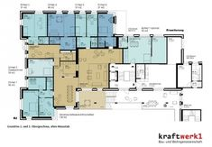 Kraftwerk Heizenholz - Zürich - KÓPERATÍV - housing cooperative
