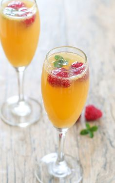Sweet Tea Mimosas | Kirbie's Cravings | A San Diego food blog