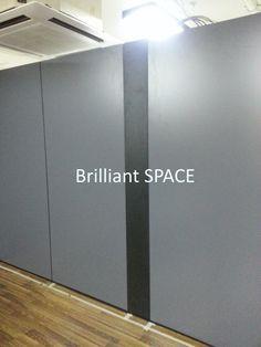 Glass System Wall 黃竹坑IT公司 (雙面板不上頂屏風) 7