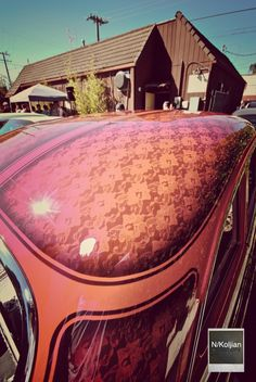 Old school lace paint - hot rod, custom, lowrider
