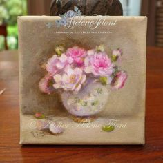 Antique rose bouquet collection by helen Flont