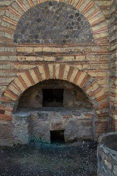 Roman bakery oven, Pompeii
