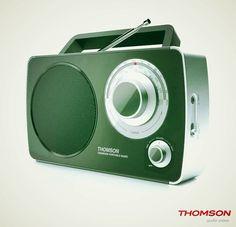 Stile e suono vintage, da Thomson. Visita www.bigbeninteractive.it per maggiori informazioni