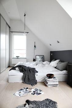 Bedroom, Piles of Magazines