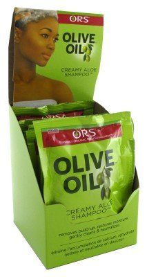 ORS Shampoo Olive Oil Creamy Aloe Pak 1.75 oz. (Pack of 12) Display ** This is an Amazon Affiliate link. See this great product.