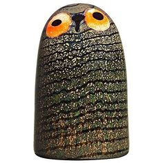 Iittala Toikka Bird - Barn Owl (£260) ❤ liked on Polyvore featuring home, home decor, iittala and bird home decor