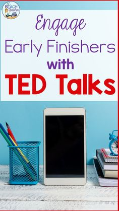 These TED Talks from diverse speakers are great filler activities for those days when a lesson finishes early or when you need an activity to get all of your classes on the same schedule. Best of all, they develop students multimedia literacy skills and they spark student interest. These talks teach important life lessons such as overcoming obstacles, having gratitude, and being productive. #earlyfinishers #multimedialiteracy #highschoolstudents #hsela #TEDtalks #highschoolactivities