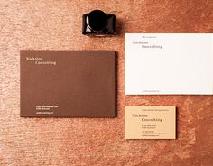 """Check out new work on my @Behance portfolio: """"Nichifor Consulting"""" http://on.be.net/1TK7J06"""