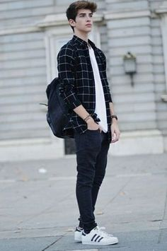 Resultado de imagen de all black outfit boy tumblr grunge aesthetic