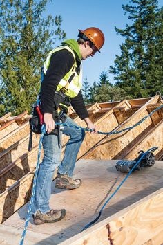 Fall Protection For Roof Work: Youu0027ll Need A Written Plan, Proper Training.  Safety RulesSafety Training