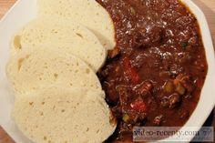 Recept Maďarský guláš - maďarský guláš - návrh na servírování