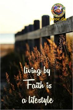 Living by Faith is a lifestyle