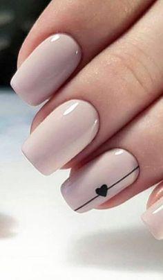 Classy Nail Designs, Short Nail Designs, Acrylic Nail Designs, Nail Art Designs, Nails Design, Classy Nail Art, Acrylic Art, Clear Acrylic, Simple Acrylic Nails